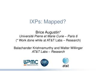 IXPs: Mapped?