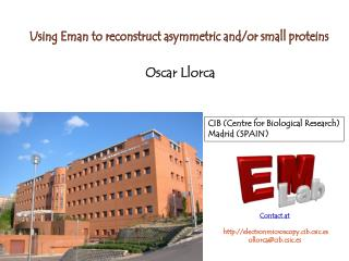 Using Eman to reconstruct asymmetric and/or small proteins