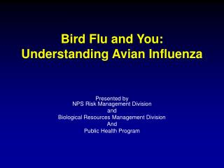 Bird Flu and You: Understanding Avian Influenza