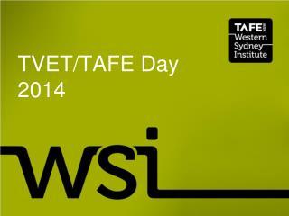 TVET/TAFE Day 2014