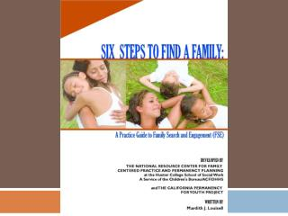 Six Steps to Finding a Family