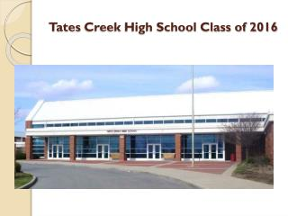 Tates  Creek High School Class of 2016