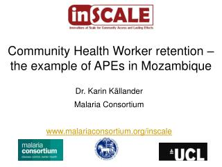 Community Health Worker retention – the example of APEs in Mozambique