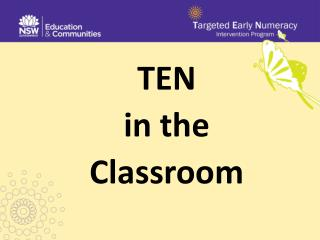 TEN in the Classroom