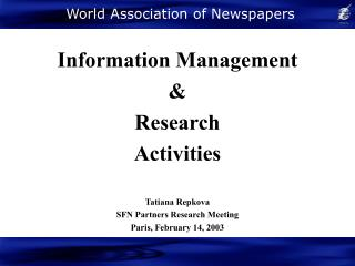 World Association of Newspapers