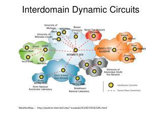 Interdomain Dynamic Circuits