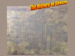 The History of Cisco