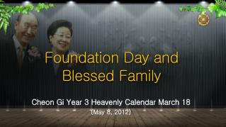 Cheon Gi Year 3 Heavenly Calendar March 18 (May 8, 2012)