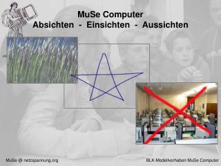 MuSe Computer  Absichten  -  Einsichten  -  Aussichten