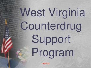 West Virginia Counterdrug Support  Program