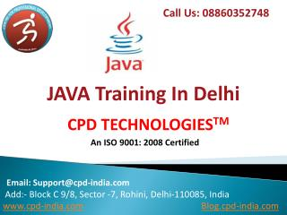 Java Training Institutes in Delhi | Java Training in Delhi