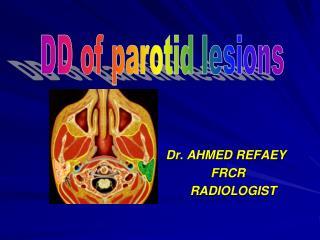 Dr. AHMED REFAEY              FRCR        RADIOLOGIST