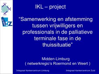 IKL – project