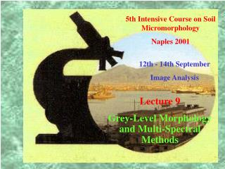 5th Intensive Course on Soil Micromorphology  Naples 2001