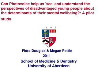 Flora Douglas & Megan Pettie  2011