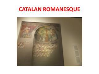 CATALAN ROMANESQUE