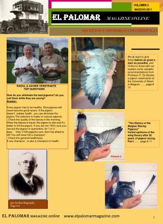 SECRETOS E HISTORIAS COLOMBOFILIA