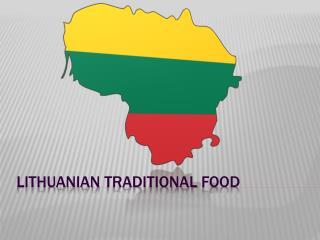 Lithuanian traditional food