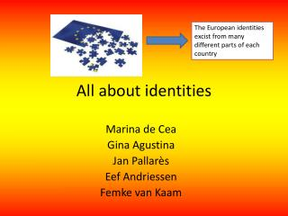 All about identities