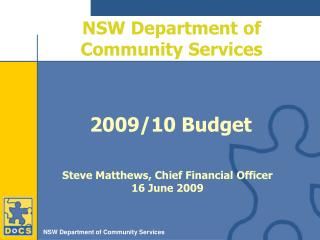 NSW Department of Community Services