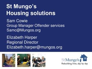 St Mungo's Housing solutions