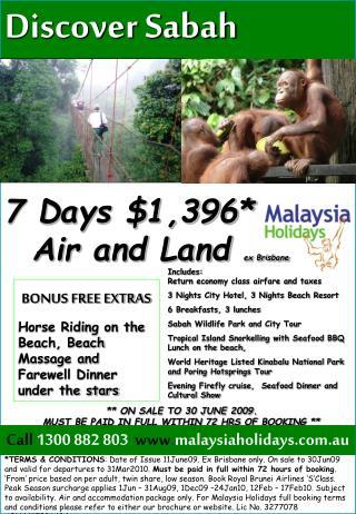 Discover Sabah SPECIAL