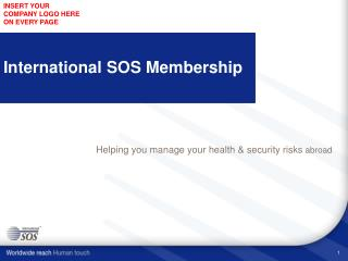 International SOS Membership