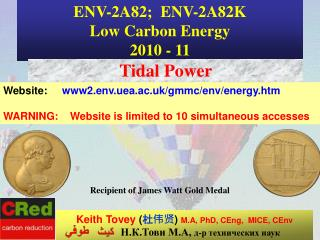 ENV-2A82;  ENV-2A82K  Low Carbon Energy 2010 - 11