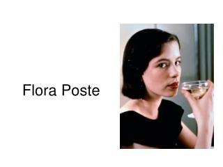 Flora Poste