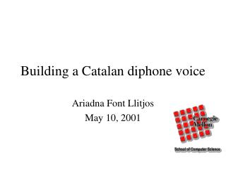 Building a Catalan diphone voice