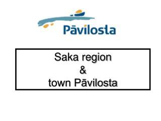 Saka region & town Pāvilosta