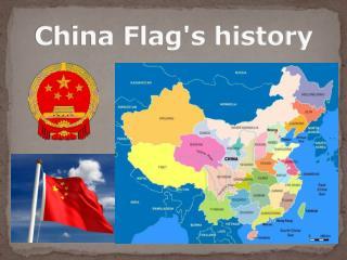 China Flag's history