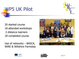 WP5 UK Pilot