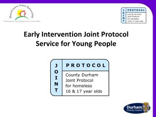 Early Intervention Joint Protocol Service for Young People