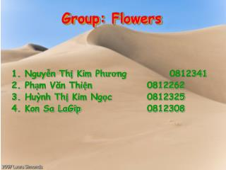 Group: Flowers