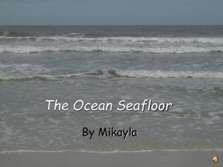 The Ocean Seafloor