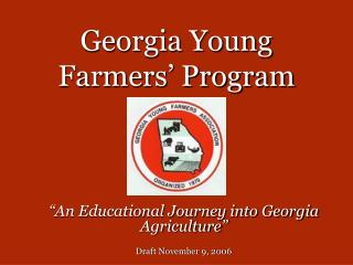 Georgia Young Farmers� Program