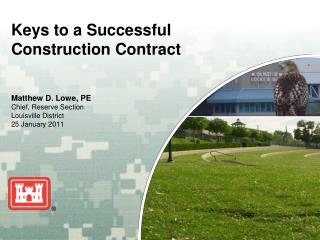 Keys to a Successful  Construction Contract