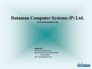 Dataman Computer Systems (P) Ltd. datamannet