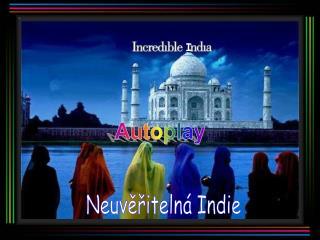 Neuvěřitelná Indie