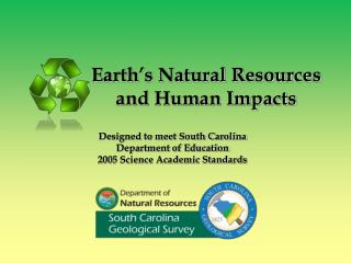 Earth�s Natural Resources and Human Impacts