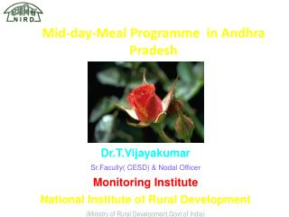 Mid-day-Meal Programme  in Andhra Pradesh