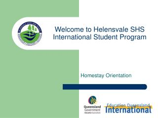 Welcome to Helensvale SHS International Student Program