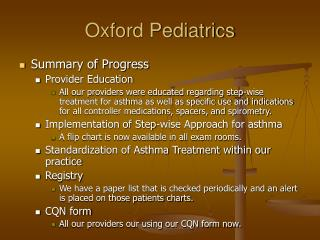 Oxford Pediatrics