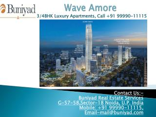 Wave Amore - Luxuary at your doorstap