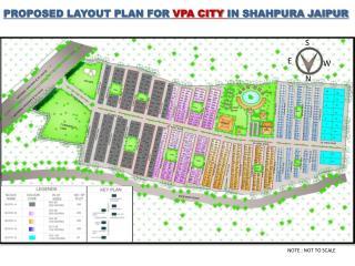 PROPOSED LAYOUT PLAN FOR  VPA CITY  IN SHAHPURA JAIPUR