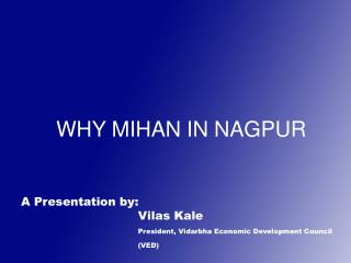 WHY MIHAN IN NAGPUR