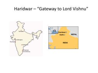"Haridwar – ""Gateway to Lord Vishnu"""