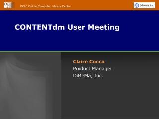 CONTENTdm User Meeting
