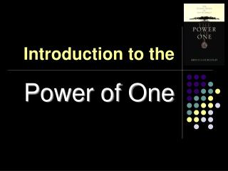 Introduction to the